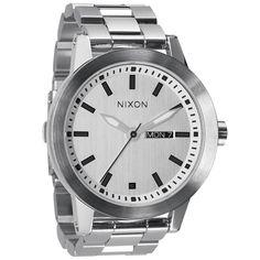 Nixon A263100 Men's The Spur White Dial Stainless Steel Bracelet Diamond Watch