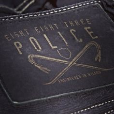 Discovering Detail #883police #SS14 #collection #detail