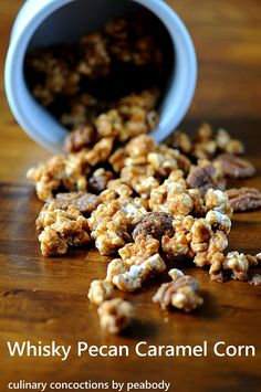 Whisky Pecan Caramel Corn from Culinary Concoctions by Peabody
