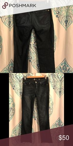 "7 For All Mankind Jeans 7 For All Mankind ""dojo"" jeans (dark wash) 7 For All Mankind Jeans Flare & Wide Leg"