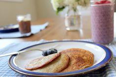 Banana pancakes - gluten free grain free paleo SCD GAPS