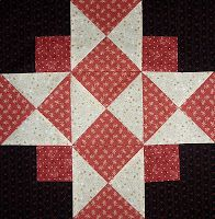 Kathy's Quilts: Chocolate Covered Strawberries Block 21