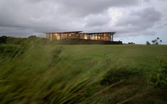 The 2,600-square foot house, known as the 'Ohana' house (the Hawaiian term 'ohana' roughly means 'family,' including extended members), was designed by Seattle architect James Cutler, who worked on the Medina, Wash., home of Microsoft co-founder Bill Gates (in collaboration with Bohlin Cywinski Jackson). The house took one year to build, and was completed in 2006.