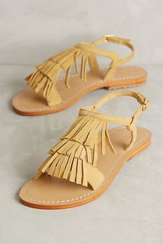 Mystique Kiltie Sandals #anthropologie