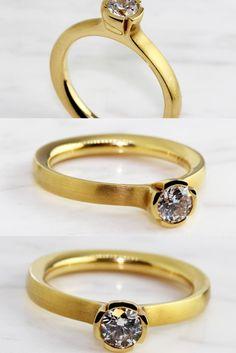 Prism Jewel 0.27 Carat Red Diamond Cluster Ring 10k Rose Gold