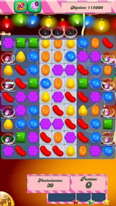 In Candy Crush Saga level 270 you need to clear the jelly and score 115,000 points. The level has three columns of double layered jelly in the middle with