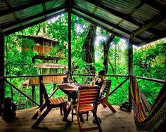 Costa Rica treehouses on Apartment Therapy. Photo by Finca Bellavista.