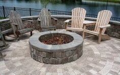 Pavers For Fire Pit Bamboo Landscapes : Fire Pits & Pavers   Landscaping With Fire