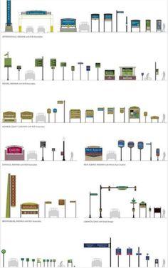 110 Ideas De Totem Y Carteleria Disenos De Unas Señaletica Señaletica Diseño