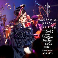 坂本真綾: LIVE TOUR 2015-16 Follow me up FINAL at NAKANO SUNPLAZA