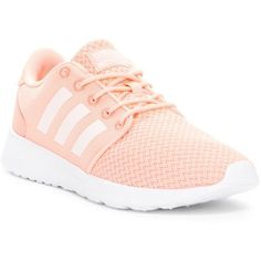 adidas Cloudfoam QT Racer W Sneaker (175 ILS) ❤ liked on Polyvore featuring shoes, sneakers, round cap, laced up shoes, lace up sneakers, adidas and round toe shoes ,Adidas Shoes Online,#adidas #shoes