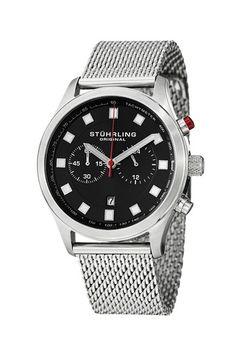 Stuhrling Men's Quartz Chronograph Watch