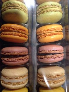Macaroons from Trader Joes. Nomm!
