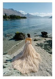 Gorgeous Real Sophia Tolli Bride Crystal chose Sophia Tolli wedding dress Marlene style # Y21431 in Mochafor her mountaintop wedding in Queenstown, New Zealand. Purchased from Debi's Bridal in San Antonio, TX, thisstrapless Sophia Tolli ball gown is crafted from frothy layers of misty tulle adorned with Swarovski crystal hand-beading. Crystal selected Mocha but this …