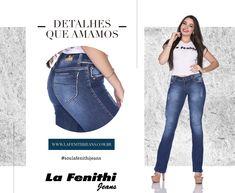 Para iniciar a semana, detalhes da qualidade e estilo do nosso jeans! 👖❤️ Use jeans, use La Fenithi Jeans! ✔Visite-nos: La Fenithi Cianorte: Shopping Master Cianorte, Rodovia PR 323, Km 220 CEP:87211-400  La Fenithi Maringá: Avenida Fashion, Rodovia PR 317, Km 06 CEP: 87065-903 Faça seu cadastro em nosso site: www.lafenithijeans.com.br