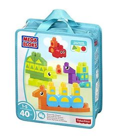 Mega Bloks Match My Shapes Building Set