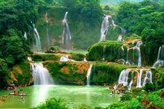Detian Water Falls, China