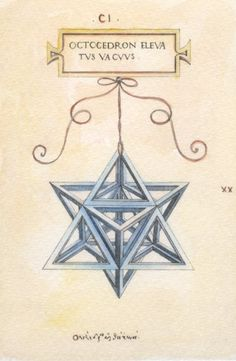 The Ducal Star, a glass lampshade based on a mathematical design that dates back to the 1400s, is a symbol of Urbino's Renaissance. The shape of this star is considered mathematically perfect and was first described in De Divina Proportione (About the Divine Proportions), a book by mathematician Luca Pacioli, illustrated by Leonardo da Vinci, which dates to around 1497. Made of blown glass and brass, the lamp adorned the noble homes of Urbino.