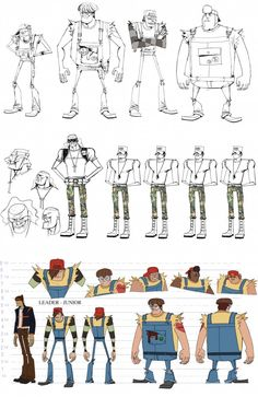 Motorcity    CHARACTER DESIGN REFERENCES   Find more at https://www.facebook.com/CharacterDesignReferences if you're looking for: #line #art #character #design #model #sheet #illustration #expressions #best #concept #animation #drawing #archive #library #reference #anatomy #traditional #draw #development #artist #pose #settei #gestures #how #to #tutorial #conceptart #modelsheet #cartoon #couples @Rachel Oberst Design References