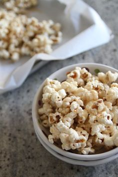 bourbon toffee popcorn from @Brandi @Branappetit    HOLY SMOKES I need to make this soon!