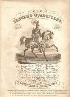 Sheet Music Cover - Circa 1800s
