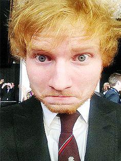 Ed Sheeran is perfect in every way ^_^  <3 His eyes, his hair, his beard...UGGHHH