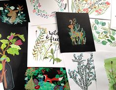 """Check out new work on my @Behance portfolio: """"Floral illustrations""""…"""