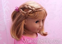 Hairstyles for Short American Girl Doll Hair!