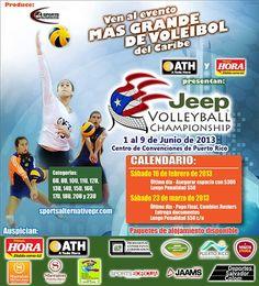Jeep Volleyball Championship 2013 @ Centro de Convenciones, San Juan