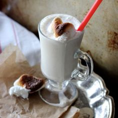 Toasted Marshmallow Milkshakes - Wright Family Table