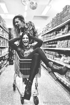 Bachelorette Bucket List ~ Final Things, before the Ring. #bachelorette #party #game #idea...grocery mart carriage fun!