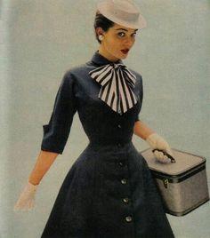 vintage fashion 1950s
