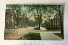 1912 Antique Postcard of Fort Wayne Indiana by LoveThisOldHouse on Etsy
