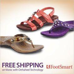 Enjoy FREE SHIPPING & use code: FBVIONIC   at #Footsmart