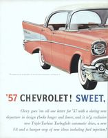 Chevy Bel Air Sport Sedan 1957 Ad Picture
