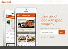 Supper Club App Wide Site