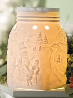 Let It Snow - November Scentsy Warmer Of The Month