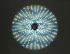 Fluorescent Tube Art by James Clar