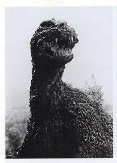 I believe this is the puppet version of Godzilla from Mothra vs. Godzilla (1964)