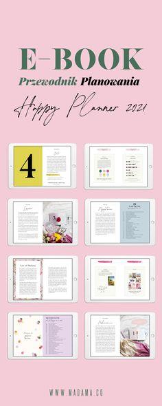 Kurs Przewodnik Planowania pokazuje, jak małymi krokami i codziennym wysiłkiem możesz osiągać ambitne cele. Happy Planner, Bullet Journal