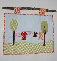 hanging a mini quilt