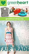 get 20% off storewide at Greenheart - ethical and eco friendly fashion and accessories
