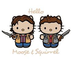 Hello Moose & Squirrel