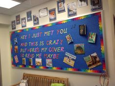 "There is a cute video from You Tube to go with this ""Read Me Maybe"" bulletin board. https://www.youtube.com/watch?v=e4RVfA97jBY=player_embedded"