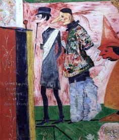 James Ensor. 1860-1949. Bruxelles. Ostende.