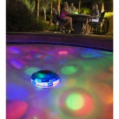 This buoy-styled light has ten (10) different shows that will provide thousands of unique lighting arrays. Powerful enough to illuminate pools up to 20-feet by 40-feet, this underwater light show is sure to impress any guest that visit your pool.