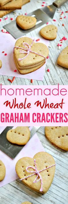 One bowl -- no mixer required! Perfect for school parties, lunch boxes, or afternoon tea, these wholesome Homemade Whole Wheat Graham Crackers are a delicious clean eating snack, healthy dessert, or quick breakfast that you can feel good about!