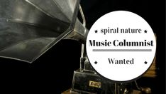 Music columnist wanted