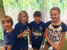 Kansas City Royals Day at Animal Wonders summer camp