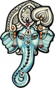 ganesh elephant head tattoo - photo #23